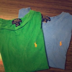 2 Ralph Lauren Polo Shirts
